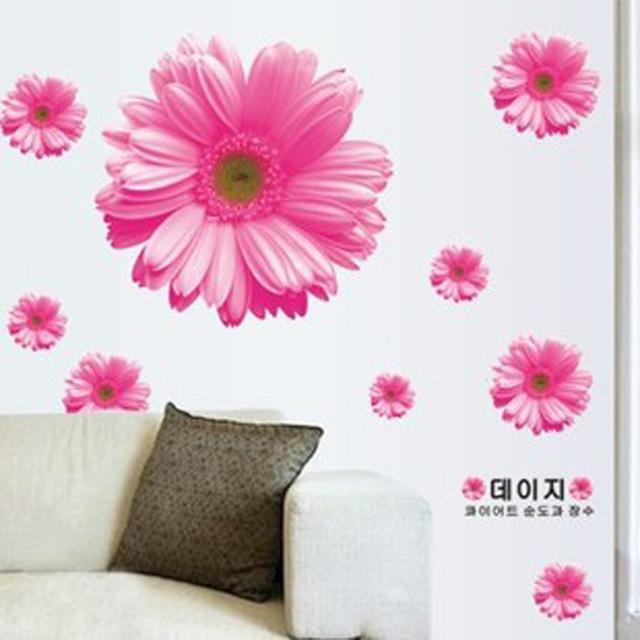 2-шт-лот-украшения-дома-3D-стикер-стены-желтый-розовый-цветок-ромашка-хризантемы-спальня-гостиной-декор.jpg_640x640