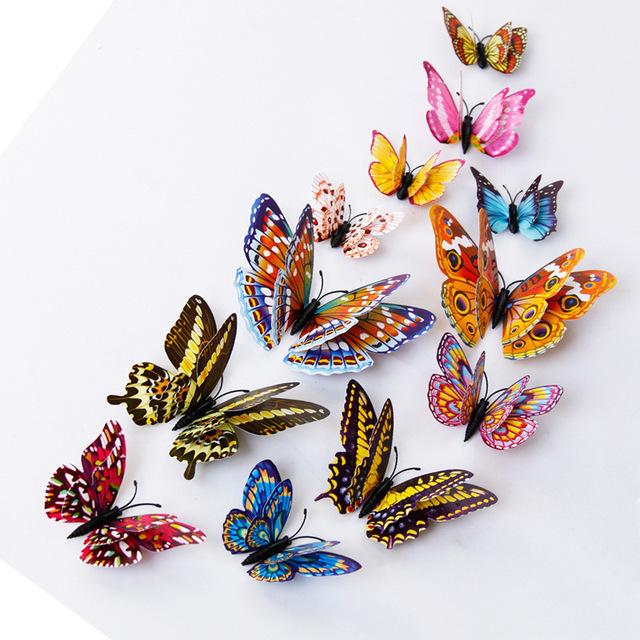 Наклейки на стену «Бабочки».