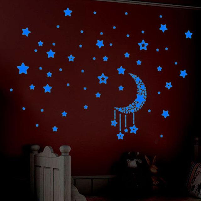 3d наклейки на стену «Светящаяся звездочка»
