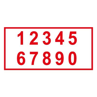 Самоклеющиеся буквы и цифры
