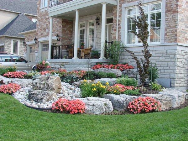 Природный камень в отделке домов