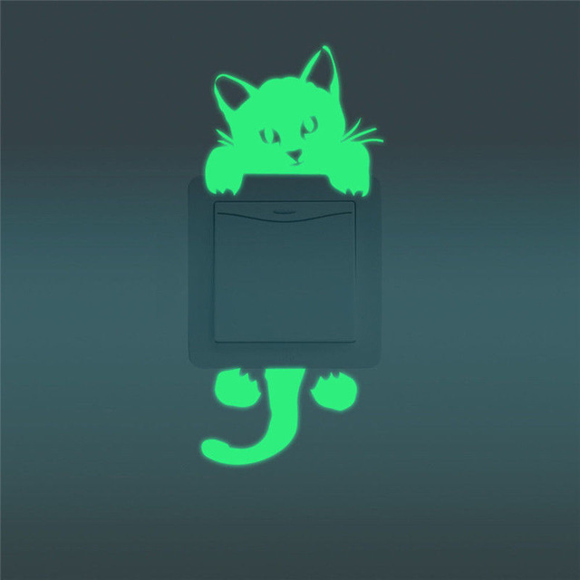 Наклейка для декора «Милый котенок».